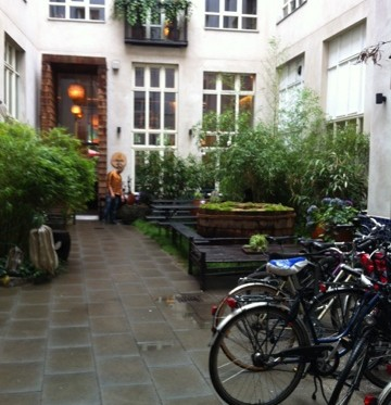 berlin courtyard