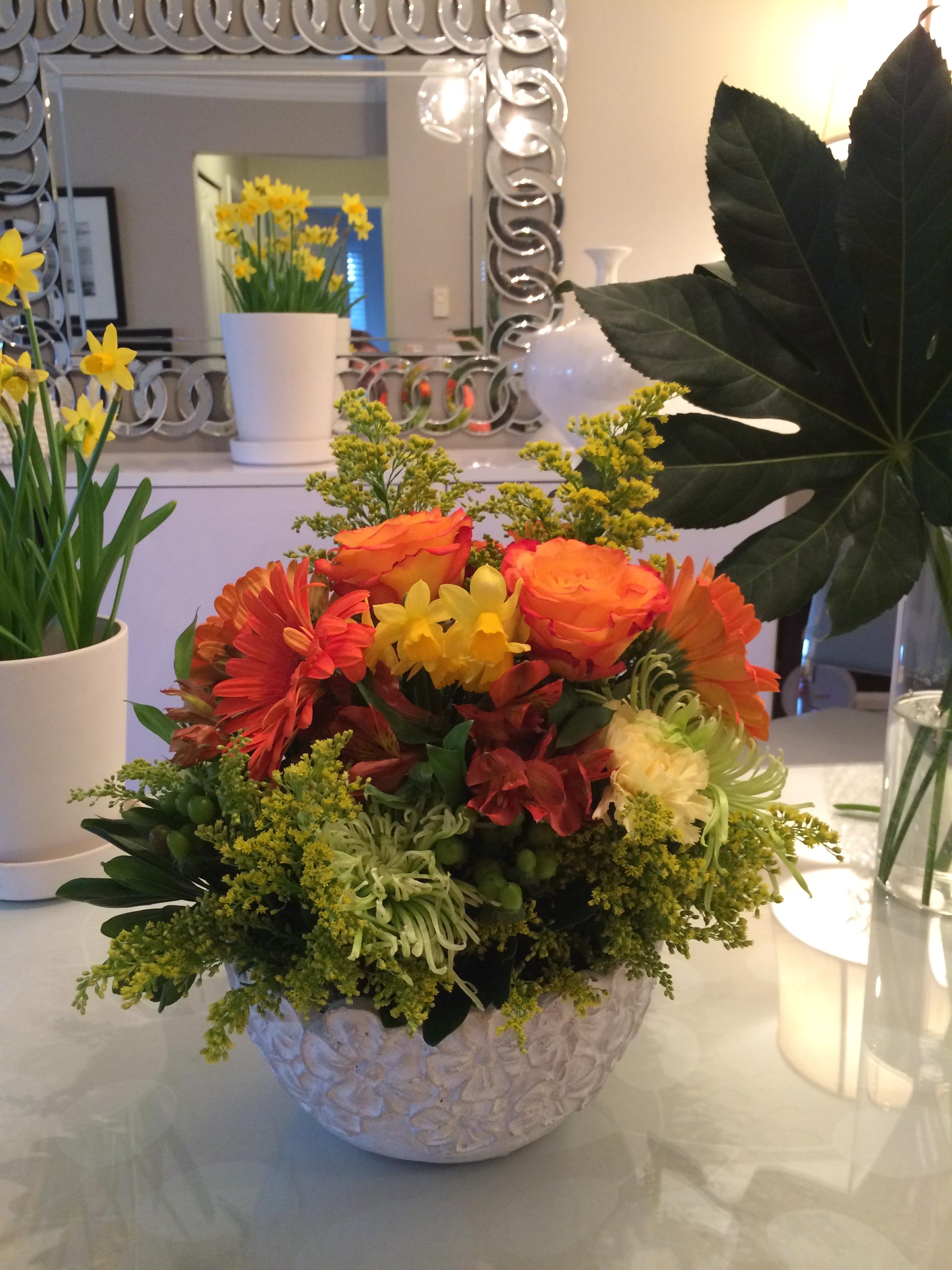 Gorgeous arrangement!