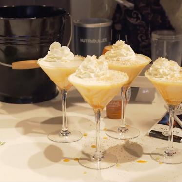 Salted Caramel Milkshake Martini